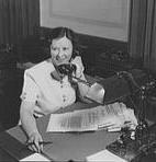 La fidata segretaria Helen Gandy