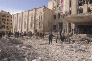 Esplosione ad Aleppo
