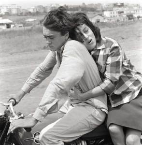 Anna Magnani e il figlio in Mamma Roma di Pasolini