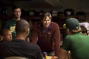 Brad Pitt manager strafigo in Moneyball
