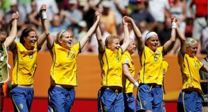 La Svezia è stata finalista agli utlimi campionati del mondo di calcio femminile