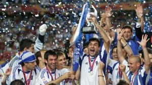 grecia  campione d'europa