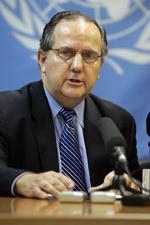 Juan Mendez, rappresentante ufficiale delle Nazioni Unite su questioni di tortura.