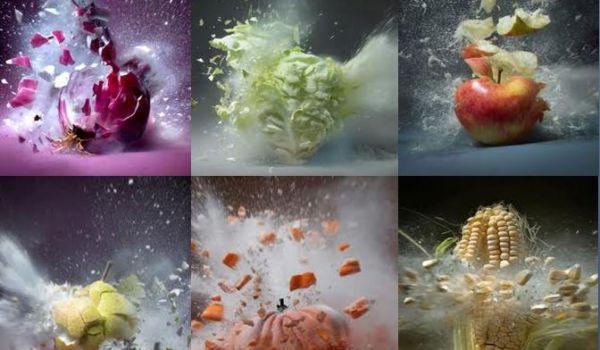 exploding vegetables