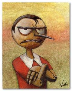 pinocchio arrabbiato
