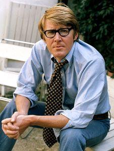Alan Bennett nel 1973, anno in cui morì il padre.