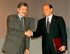 D'Alema e Berlusconi