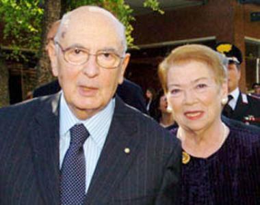 Giorgio e Clio Napolitano