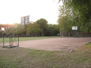Cortile della Scuola Elementare Randi a Ravenna