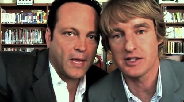 """Owen Wilson (il biondo) e Vince Vaughn (il bruno), co-protagonisti de """"Gli stagisti""""."""