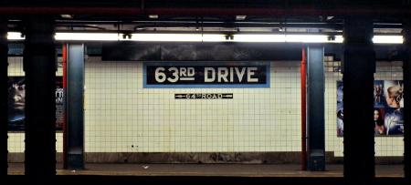 """La fermata """"63rd Drive – Rego Park"""""""