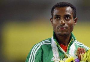 Kenenisa Bekele, plurimedagliato e detentore dei primati mondiali sui 5000 e 10000 metri.