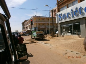 Ouagadougou, capitale del Burkina Faso.