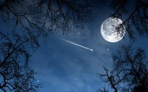 La luna e le stelle