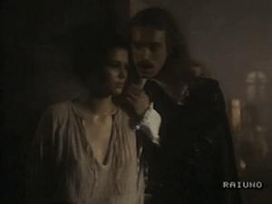 """Lucia respinge Don Rodrigo nella versione televisiva di """"I promessi sposi"""""""