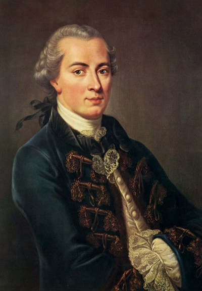 Immanuel Kant (1724 –1804)