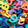 Colourful preschool numbers