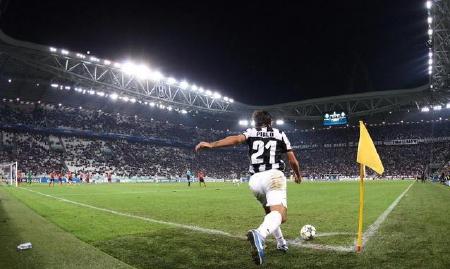 Andrea Pirlo nello Juventus Stadium