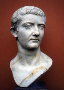 Busto dell'imperatore Tiberio