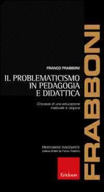 problematicismo pedagogico