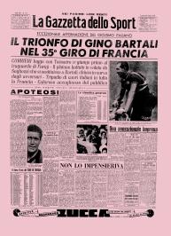 La guerra civile non fu evitata per la vittoria di Bartali al Tour ma senz'altro distrasse gli italiani e li calmò.