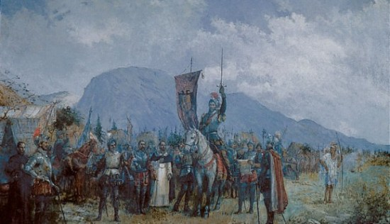Jimenez de Quesada fonda Bogotá il 6 agosto 1538.