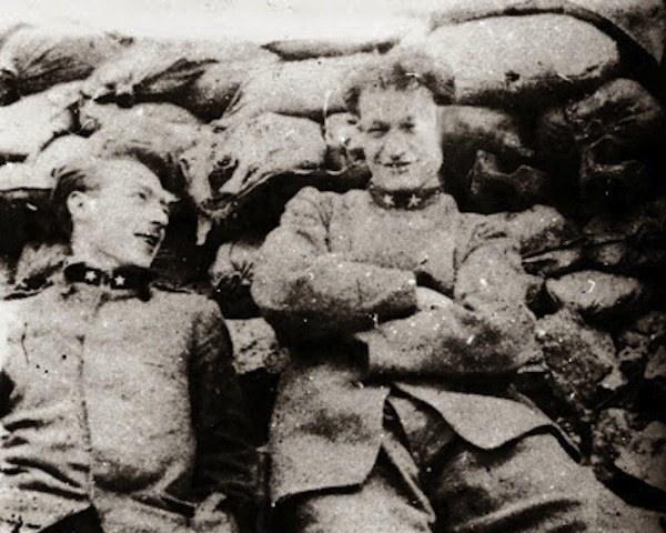 Ungaretti in trincea, fronte Austro - Ungarico 1916