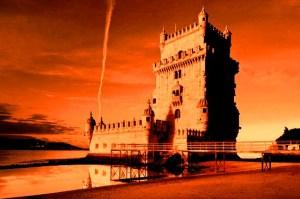 La torre di Belem a Lisbona.