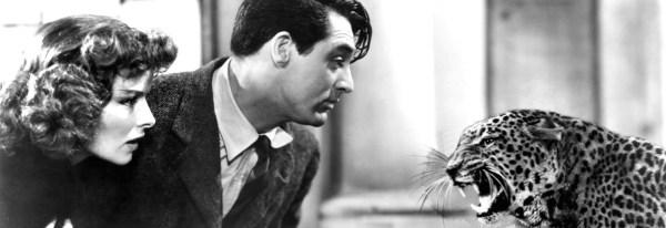 """Cary Grant Katharine Hepburn in """"Bringing up baby - Susanna"""" di howard waks"""