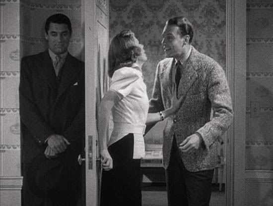 "Cary Grant, Irene Dunne e Ralph Bellamy in ""The awful truth - L'orribile verità"" di Leo McCarey"