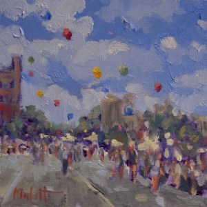 Hometown Summer Festival balloons - Heidi Malott