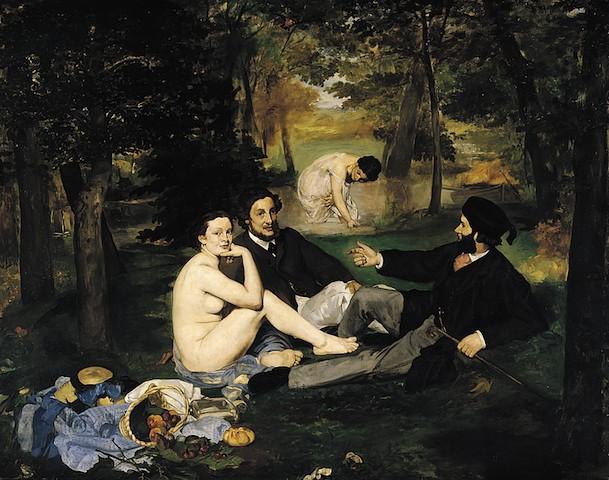 Le Déjeuner sur l'herbe, 1862-63, Parigi, Musèe d'Orsay
