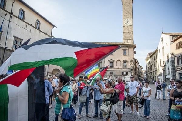 Manifestazione a favore della Palestina