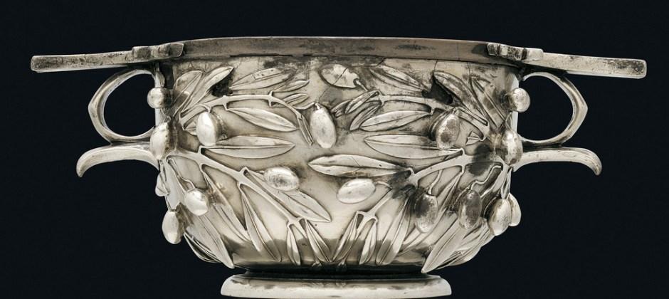 Tesoro di Boscoreale, coppa in argento