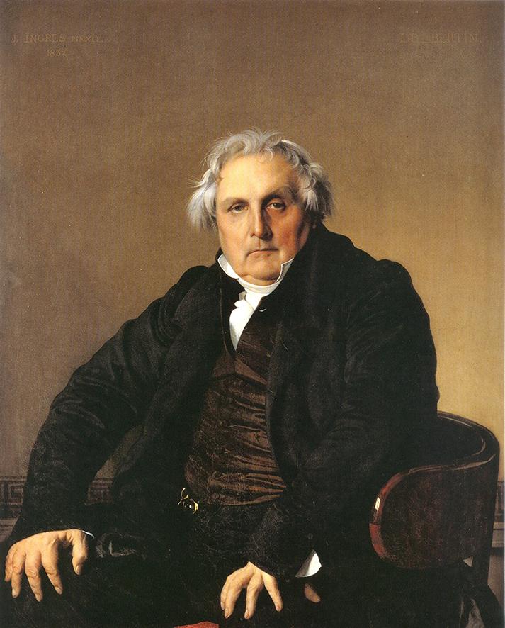 Jean-Auguste-Dominique Ingres, Monsieur Bertin, Museo del Louvre, Parigi