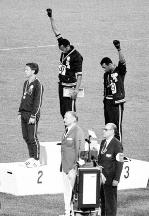 Olimpiadi 1968, Tommie Smith e John Carlos