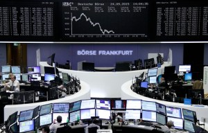 Wolkswagen collapse in Frankfurt stock exchange - 2015