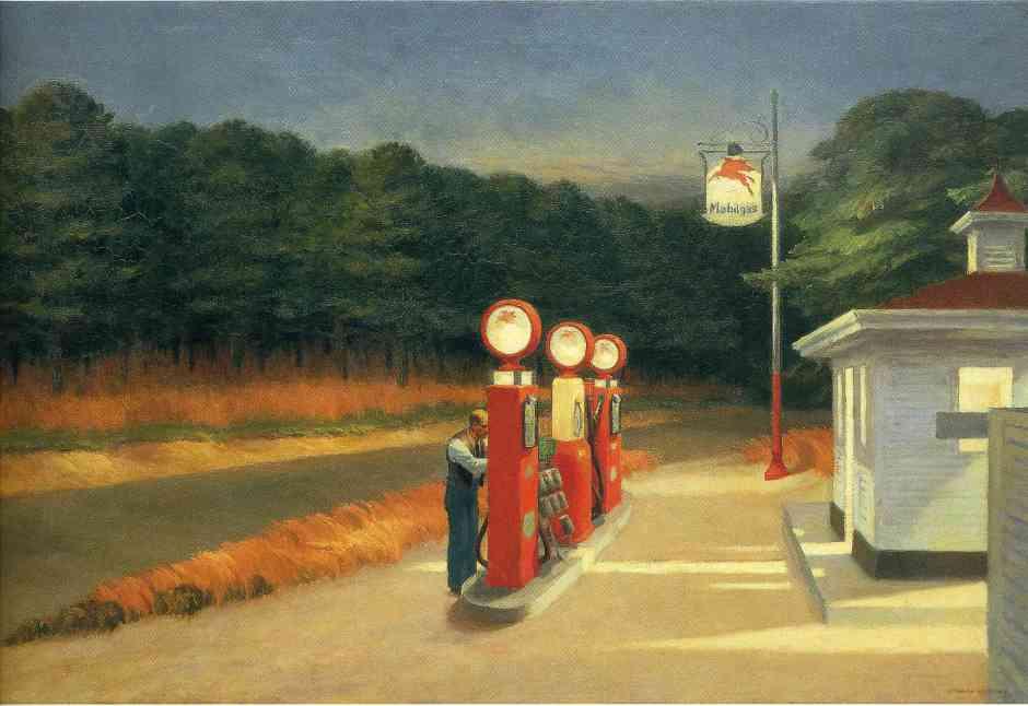 Gas,  Museum of Modern Art, New York