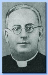 Don Alberto Terilli, ucciso crudelmente dalla furia dei solcai del CEF.