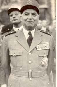 Il generale Alphonse Juin.