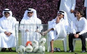 Lo sceicco Al Thani padrone del PSG.
