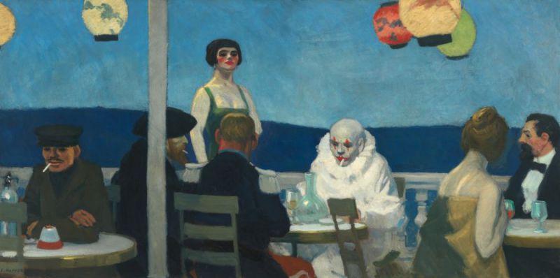 Edward Hopper- Soir bleu 1914