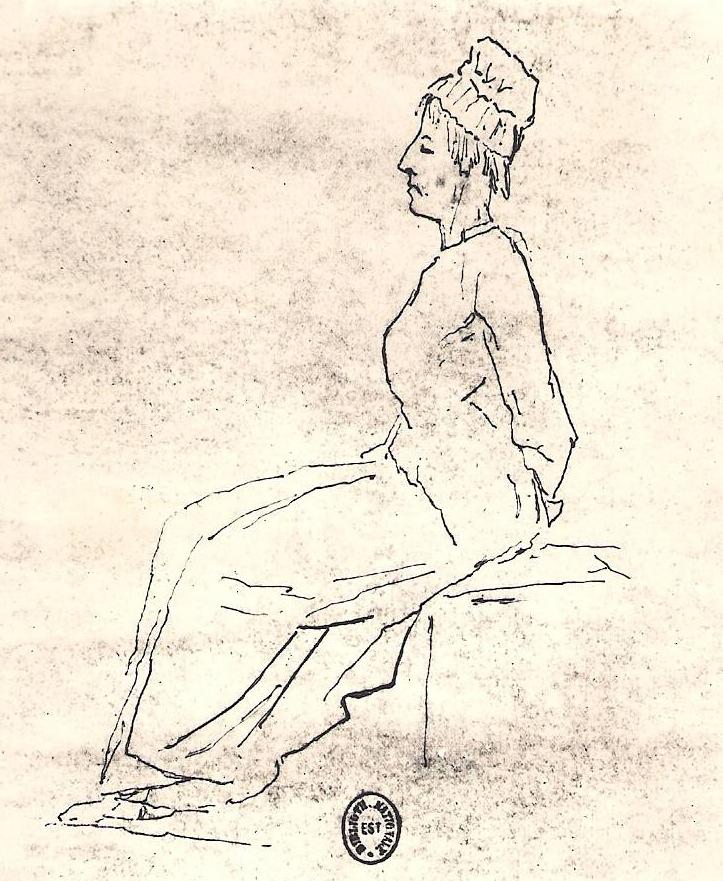 Jacques Louis David, Maria Antonietta condotta alla ghigliottina