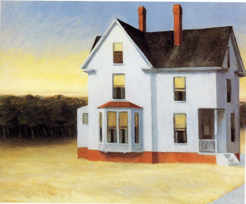 Edward Hopper - Cape Cod Sunset 1934