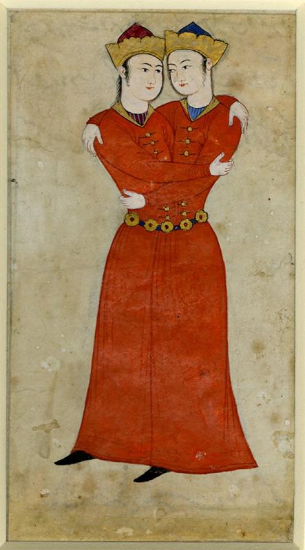 Arte persiana, il segno dei gemelli, British museum