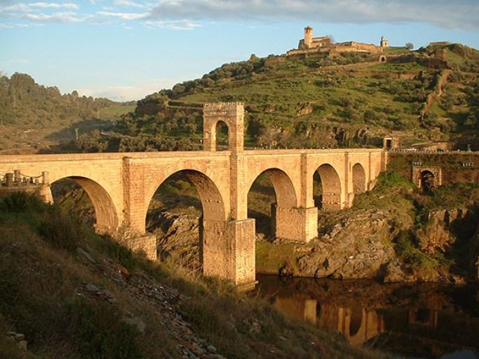 Ponte romano di Alcantara, Spagna.