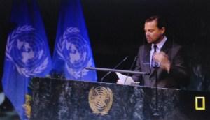 Leonardo Di Caprio ambasciatore ONU con delega per i cambiamenti climatici