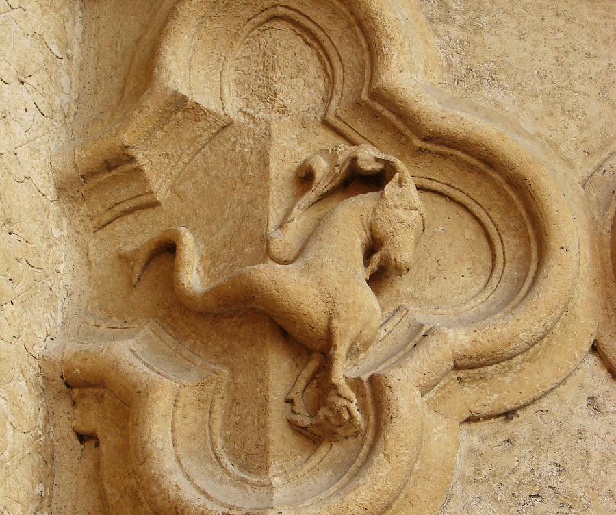 Rilievi dello zodiaco, Cattedrale di Amiens