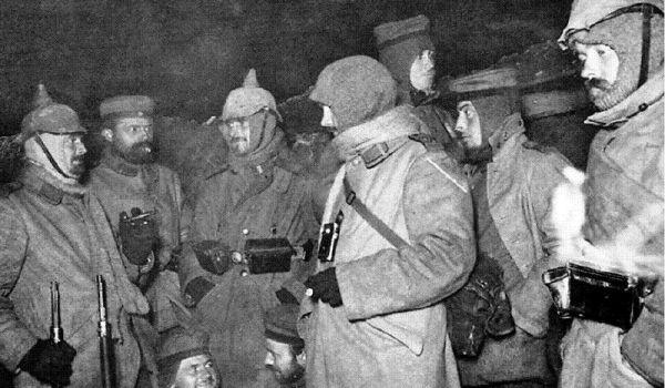 La tregua di Natale 1914