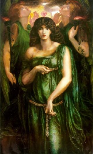 Astarte Syriaca, modella Jane Burden